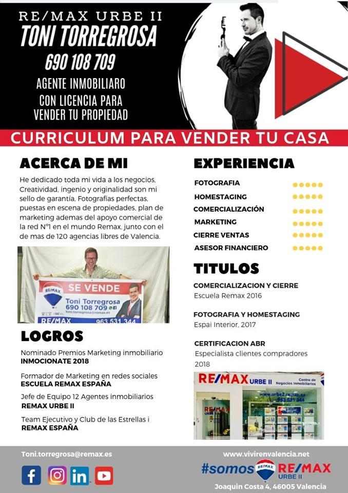 Curriculum toni Torregrosa