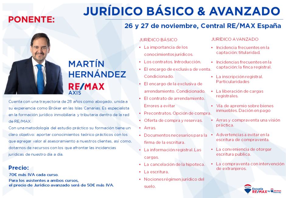 Ciclo jurídico. 26 y 27 de noviembre