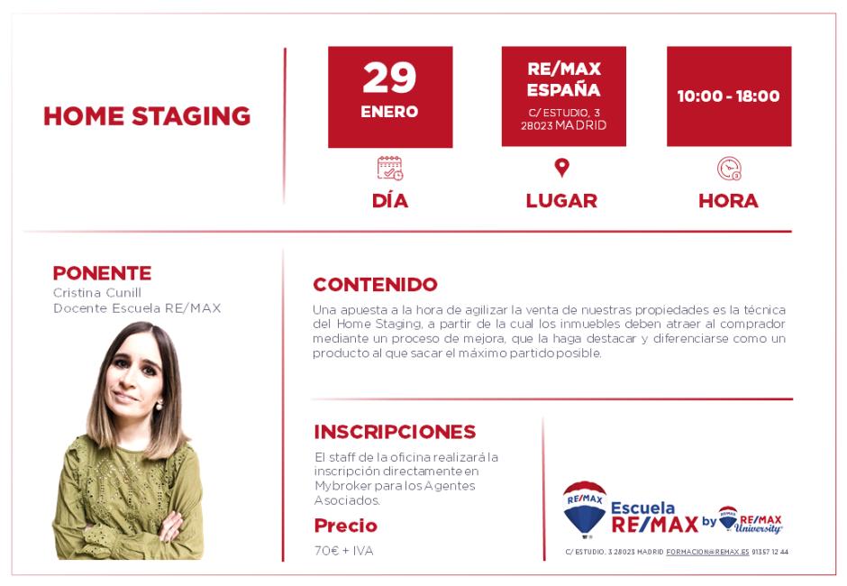 HOME STAGING - MADRID - ENERO 2020
