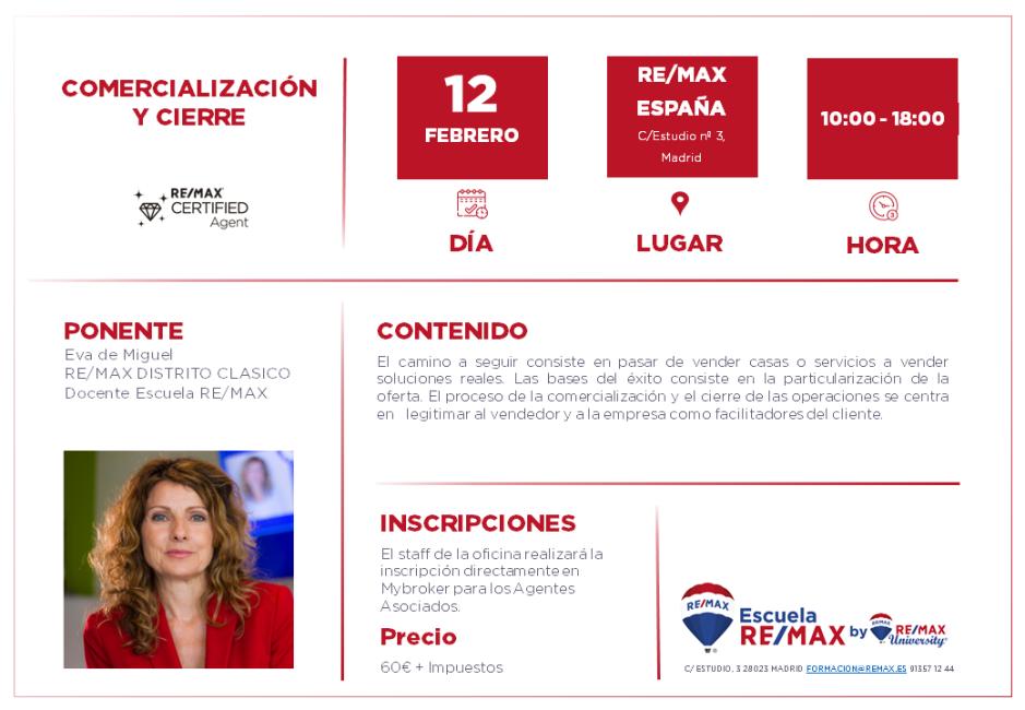 CIERRE - MADRID - FEBRERO 2020