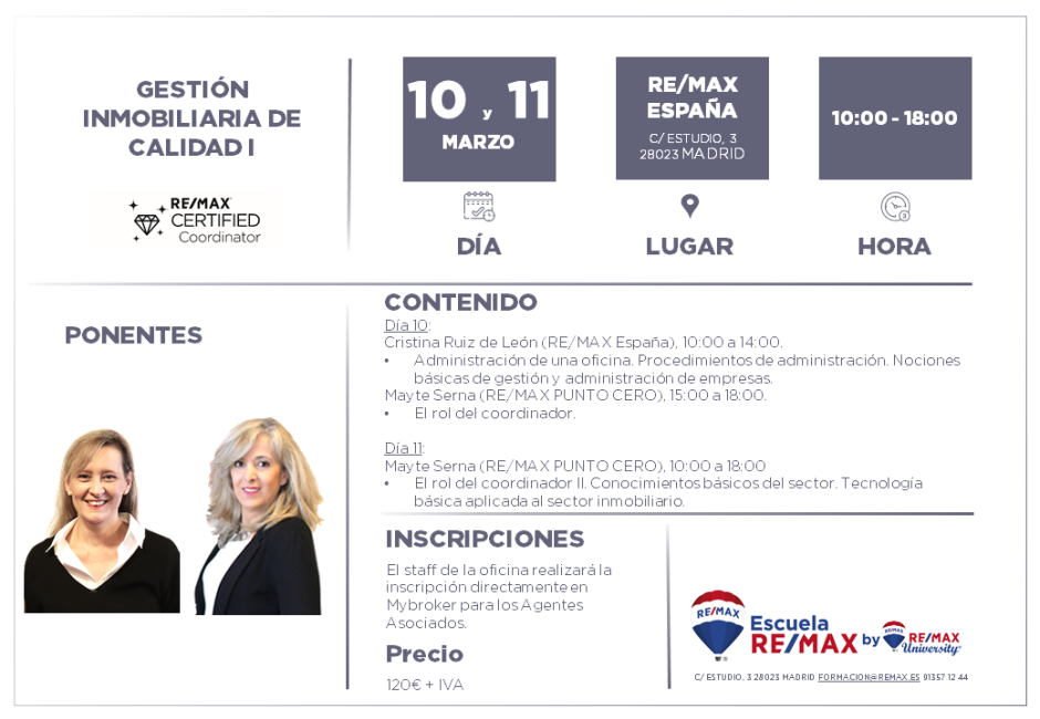 COORDINADORES I - MADRID - MARZO 2020