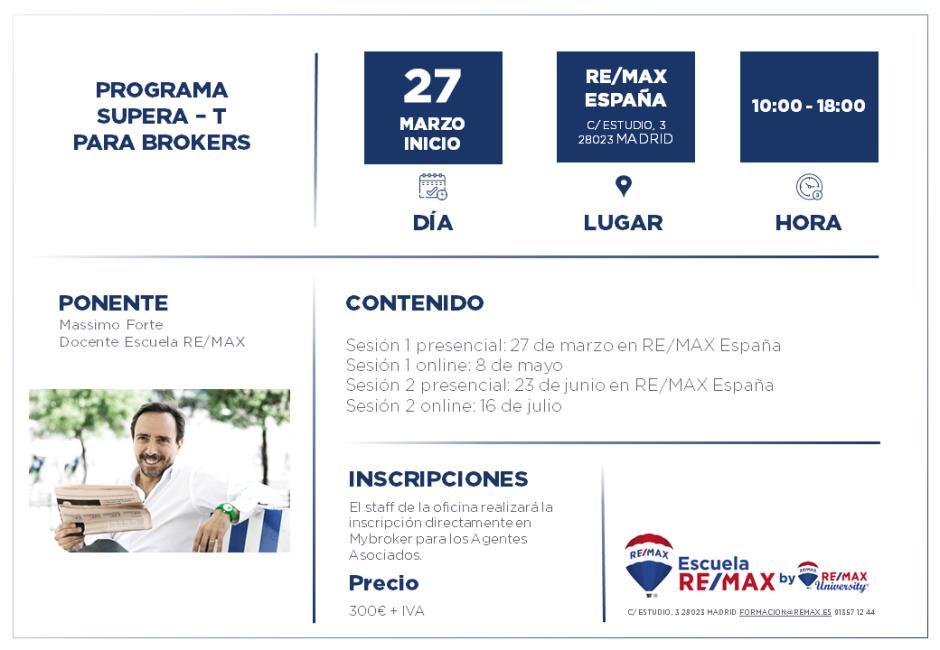 SUPERA - T BROKERS - MADRID - FEBRERO 2020