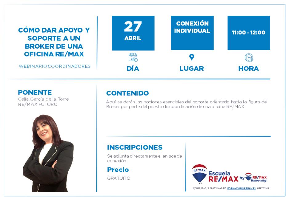 CÓMO DAR APOYO Y SOPORTE A UN BROKER DE UNA OFICINA REMAX - 27 ABRIL - CELIA GARCIA DE LA TORRE.png
