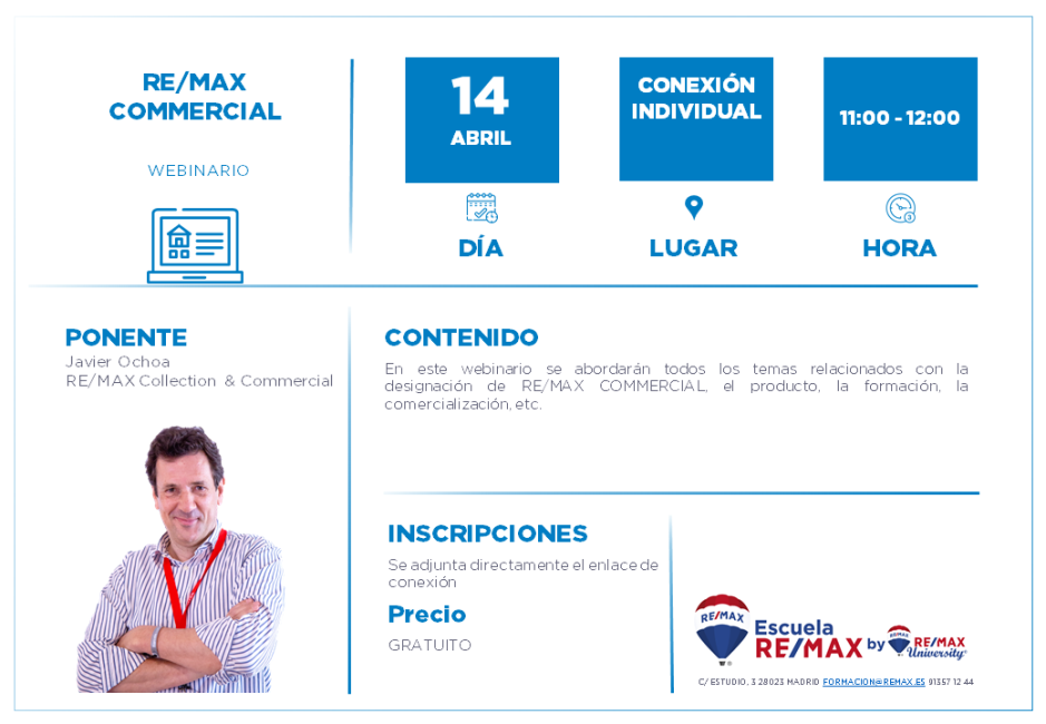 REMAX COMMERCIAL - 14 ABRIL - JAVIER OCHOA